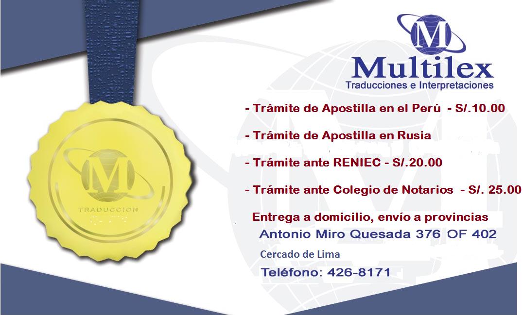 Apostilla De Haya En El Per 31 De Marzo 2010 Multilex Traducciones E Interpretaciones